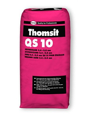 Thomsit Spachtelmasse  QS 10 Abstreusand wQS10